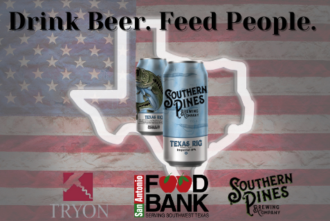Tryon Teams Up With Southern Pines Brewing To Help Texas
