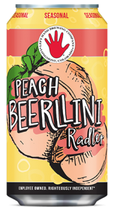 Left Hand Peach Beerlini